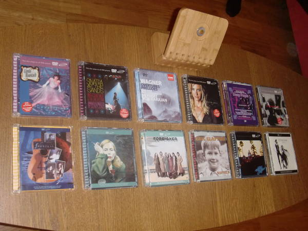 Dvd Audio Rare - 12 disc collection combo sale!