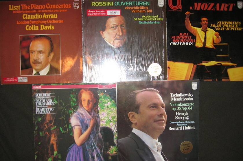 30 CLASSICAL LP COLLECTION - PHILIPS IMPORTS EXCELLENT CONDITION