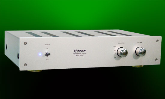 Jolida JD-1701BRc 50wpc remote integrated amp