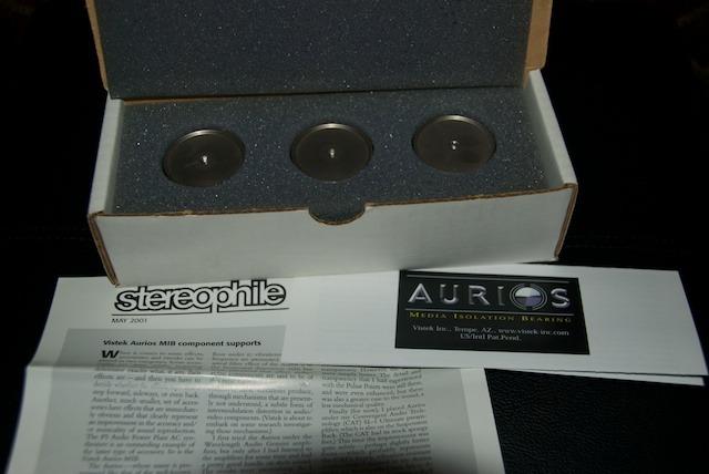 Aurios MIB 1.1 Isolation Bearings