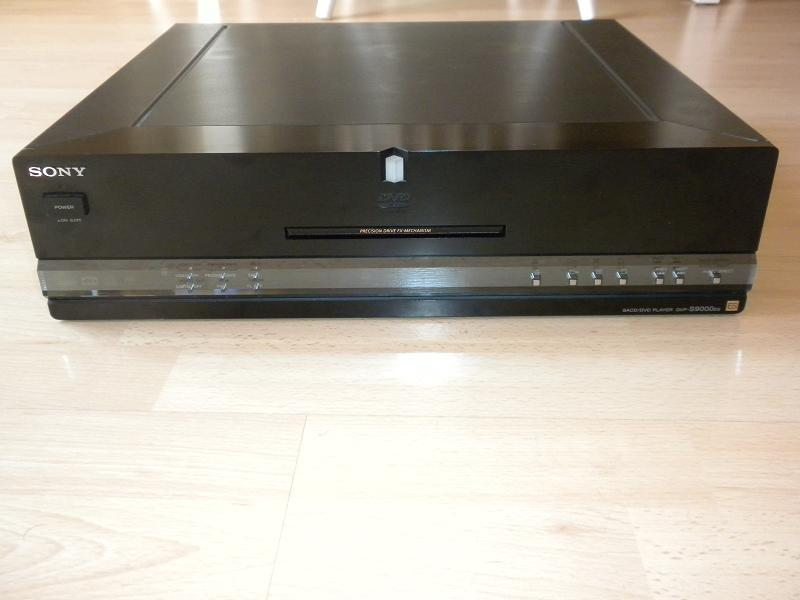 MODWRIGHT SONY DVP-S9000ES SACD PLAYER