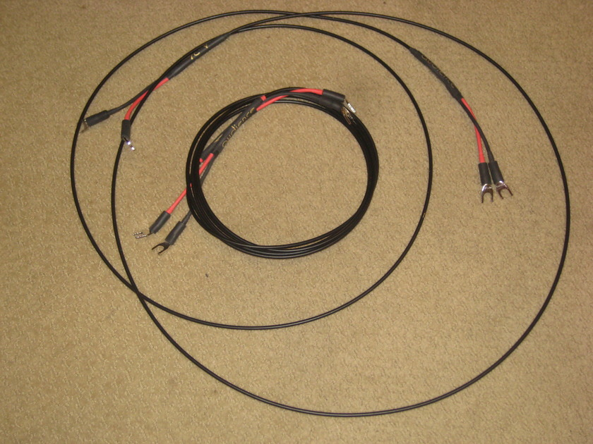 Audience AU-24 Speaker Cable: Spade to Spade