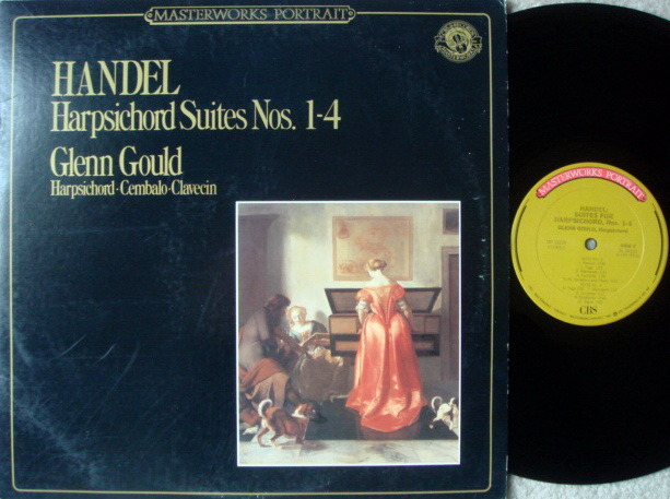 CBS / GLENN GOULD, - Handel Harpsichord Suites No.1-4, MINT!