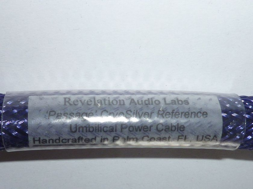 """Revelation Audio Labs power cable for MSB """"Passage Cryo-Silver Reference"""" 0.5 meter, 6-pin DIN"""