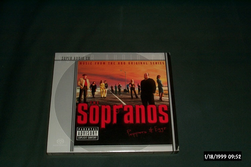The Sopranos - Peppers & Eggs SACD  NM 2 Disc Set