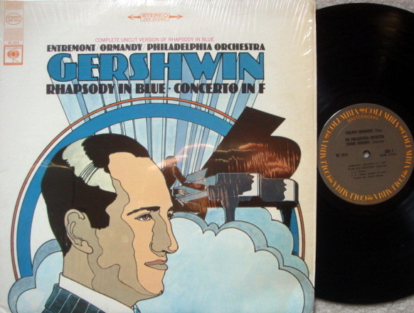 Columbia / ENTREMONT-ORMANDY - Gershwin Concerto in F, Rhapsody in Blue, MINT!