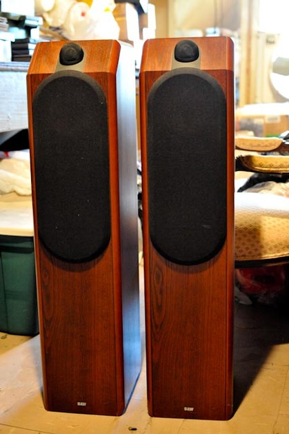 B&W CDM 7 SE Floor Standing Speakers