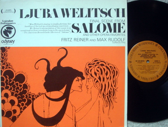 Columbia / WELITSCH-REINER, - Arais from Operas, MINT!