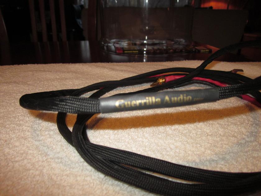Guerrilla  Audio Cables: Pure Silver - Pure Copper True Biwire