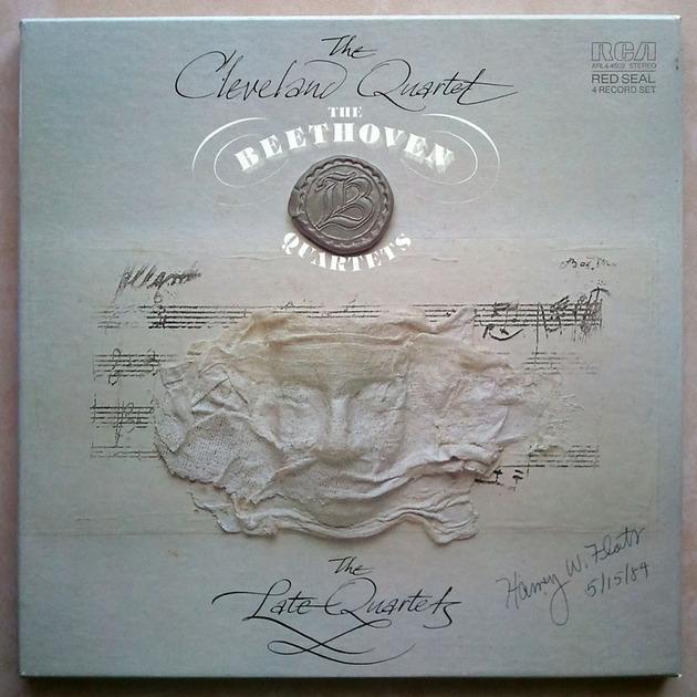RCA/Cleveland Quartet/Beethoven - The Late Quartets / 4-LP / / NM