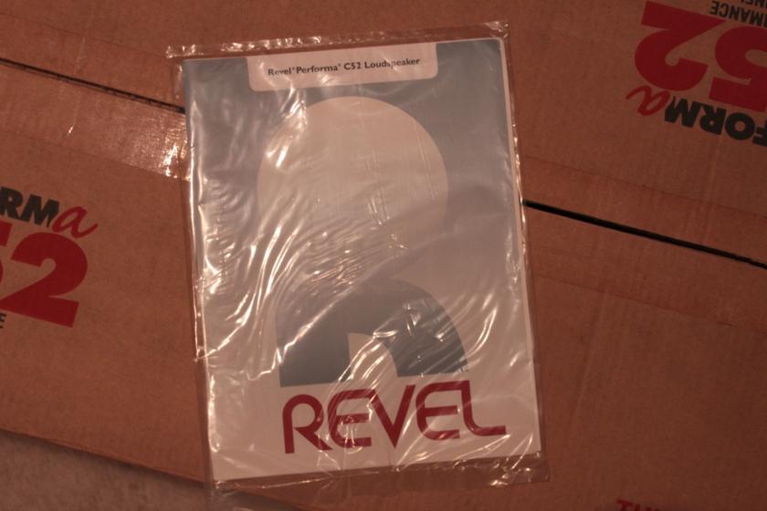 Revel C52 Center Channel Speaker