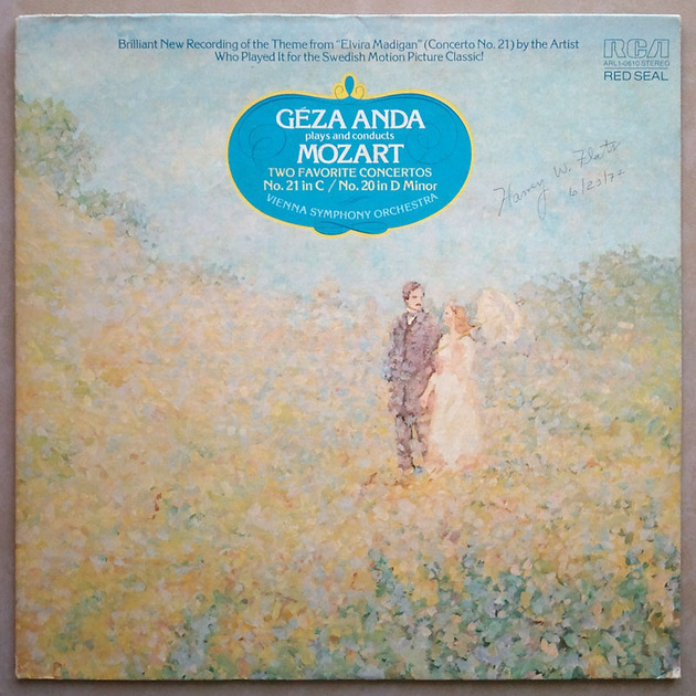 RCA/Anda/Mozart - Piano Concertos Nos. 20 & 21 / EX