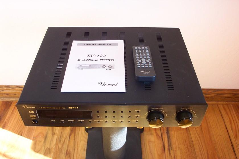 Vincent SV-122 AV Surround 6.1 Receiver Mint, Never Used, List $1325, Sell $450 obo
