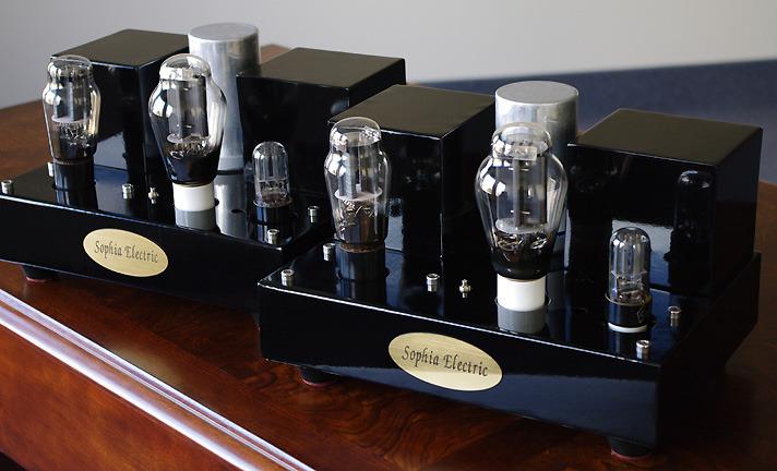 Sophia Electric 91-01 300B mono-block amplifiers with MAGIC SOUND!!!