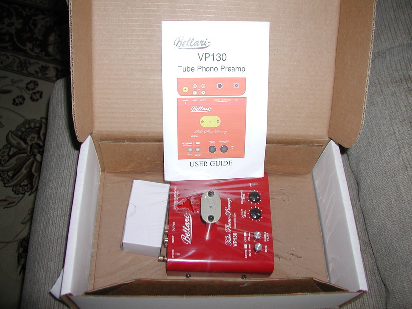 Bellari VP130 Tube Phono Preamp like new!