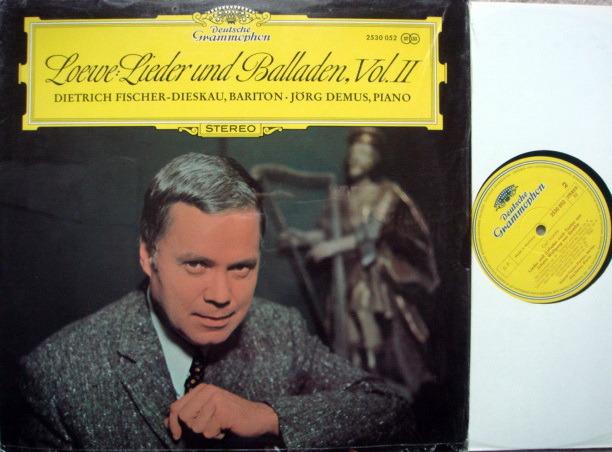 DG / FISCHER-DIESKAU-DEMUS - ,Loewe Lieder und Balladen Vol.2, MINT!