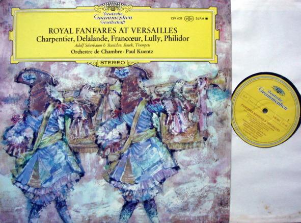 DGG / KUENTZ, - Royal Fanfares at Versailles, MINT!