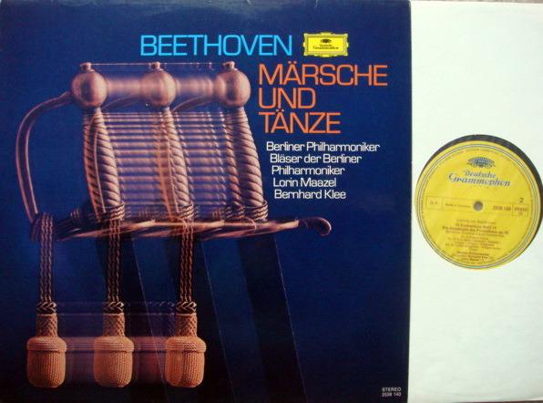DG / MAAZEL-KLEE, - Beethoven Marches & Dances, MINT!