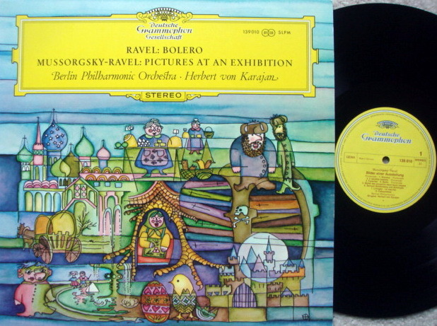 DGG / KARAJAN-BPO, - Ravel Bolero, MINT!