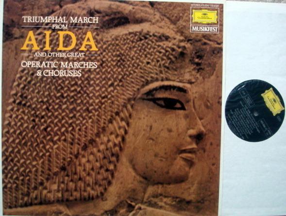 DG / JOCHUM-FRICSAY, - Verdi Aida Triumphal March, MINT!