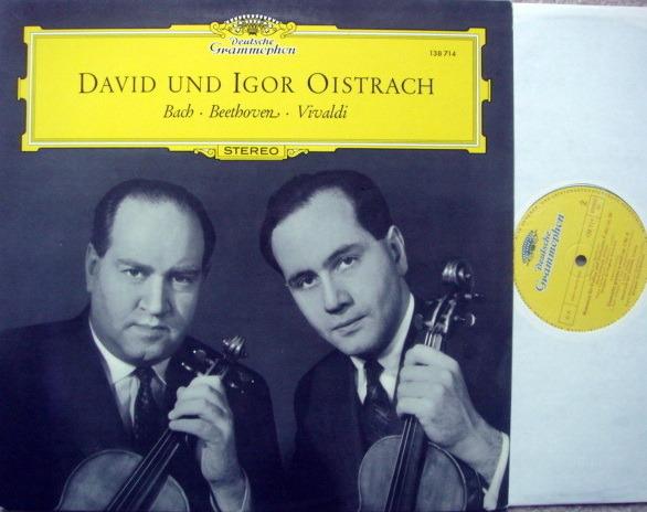 DG / DAVID & IFOR OISTRAKH, - Bach-Beethoven-Vivaldi, MINT!