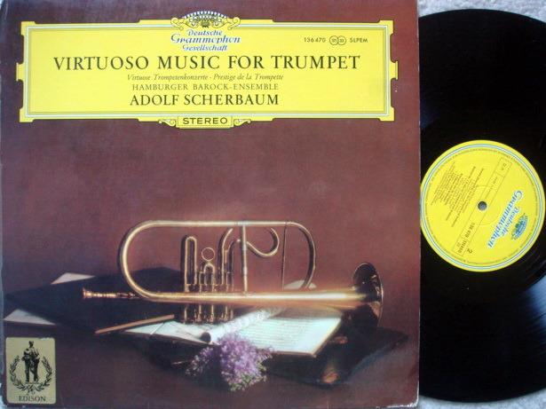 DGG / SCHERBAUM, - Virtuoso Music for Trumpet, MINT!