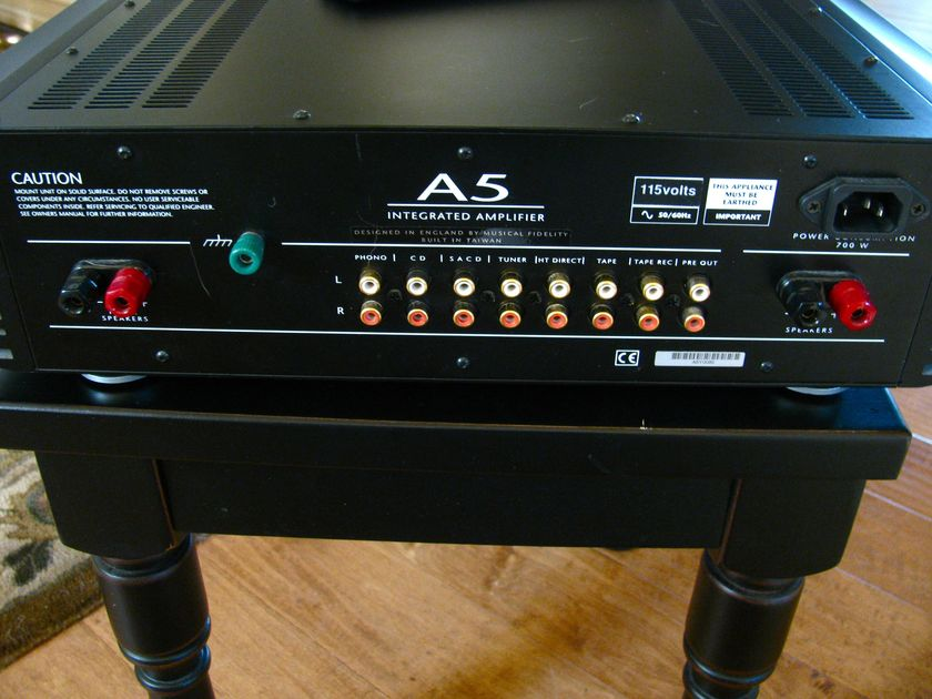 Musical Fidelity A5  Free Shippping / Will Trade
