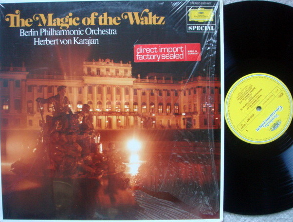 DG / KARAJAN-BPO, - The Magic of the Waltz, MINT!