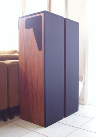 Ultrarare Jack Bybee diy hand made 3-way 1 of a kind custom speakers