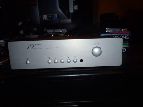 Valve Audio Predator 250wpc hybrid Int. amp