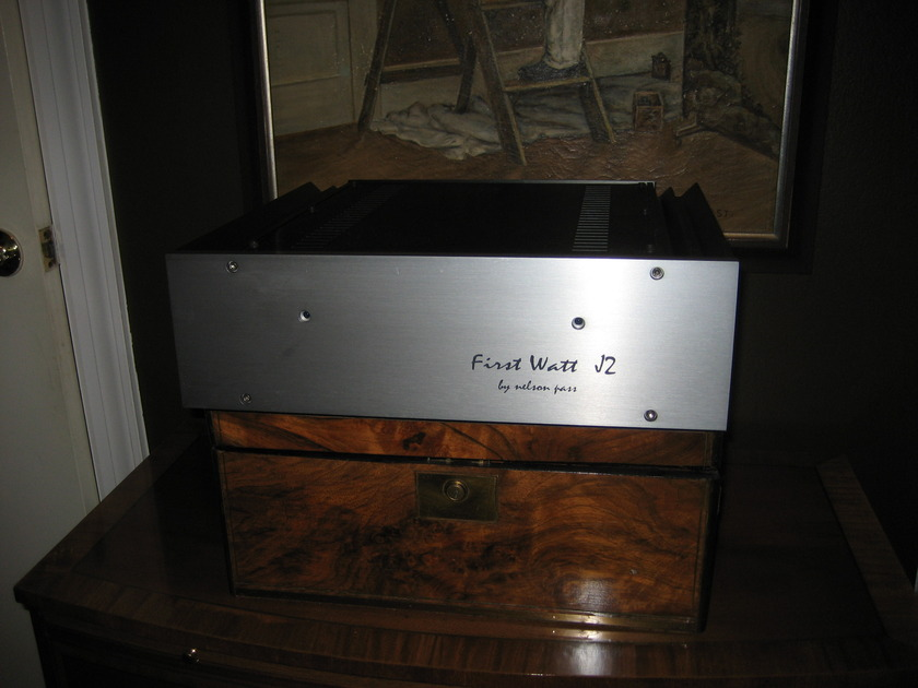 First Watt (Pass Labs) J2 Power Amplifier Excellent Condition