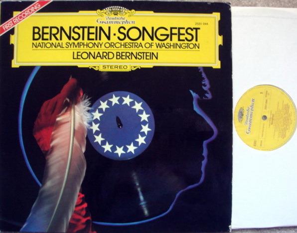 DG / BERNSTEIN-NSOW, - Bernstein Songfest, MINT!