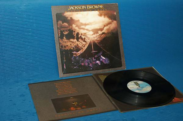 "JACKSON BROWNE -  - ""Running On Empty"" - Asylum 1977 w/poster"