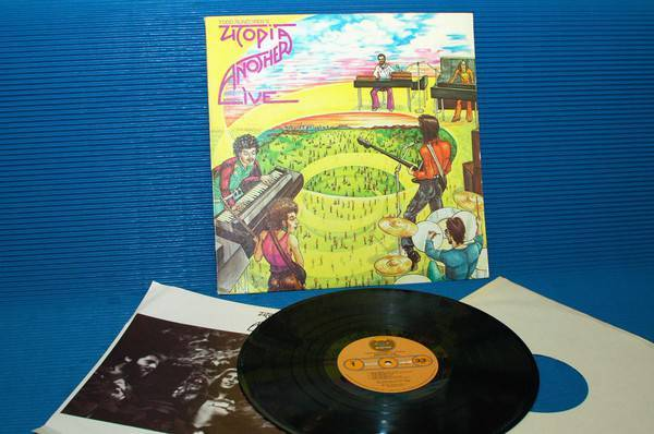 "UTOPIA/TODD RUNDGREN -  - ""Another Live"" - Bearsville 1975 early pressing"