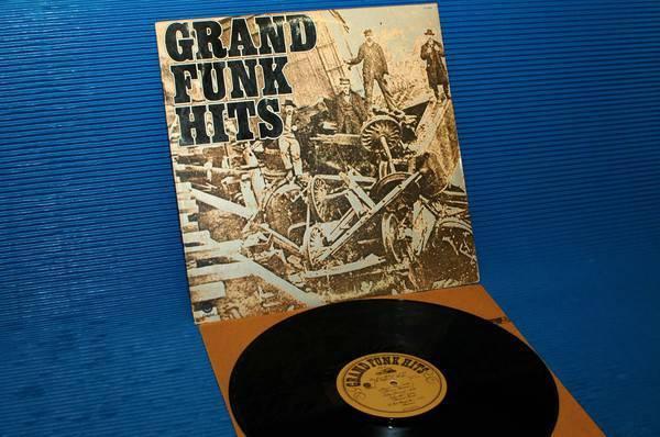 "GRAND FUNK RAILROAD -  - ""Grand Funk Hits"" - Capitol 1976 Sterling"
