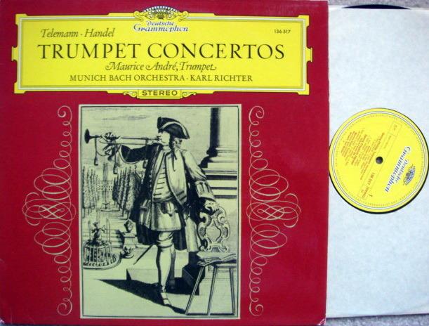 DG / MAURICE ANDRE, - Telemann-Haydn Trumpet, Concertos,  MINT!