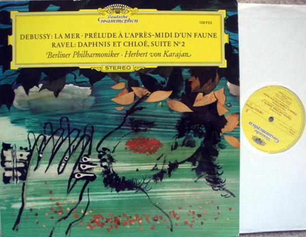 DG / KARAJAN-BPO, - Debussy La Mer, MINT!
