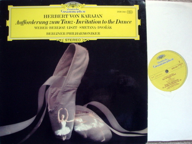 DG / KARAJAN-BPO, - Weber Invitation to the Dance, MINT!