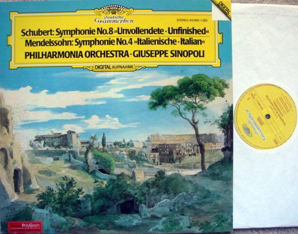 DG Digital / SINOPOLI-PO, - Schubert Symphony No.8 Unfinished, MINT!