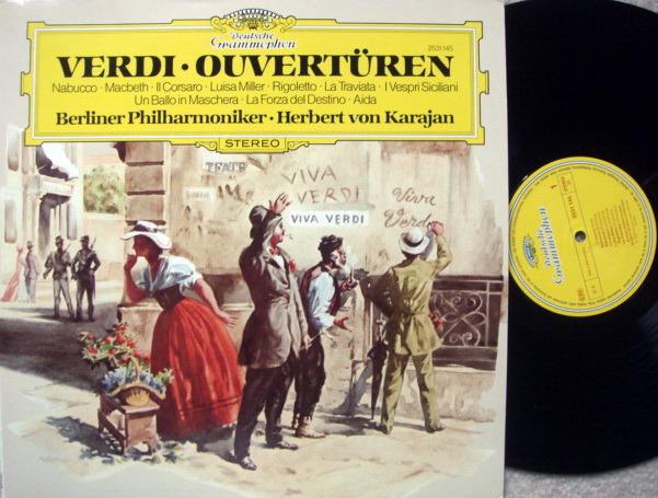 DG / KARAJAN-BPO, - Verdi Overtures, MINT!