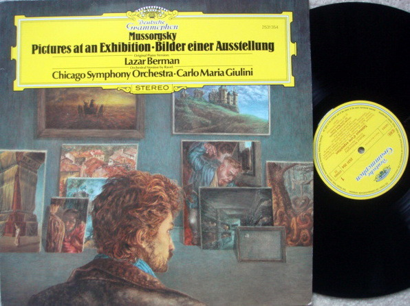 DG / BERMAN-GIULINI, - Mussorgsky Pictures at an Exhibition, MINT!