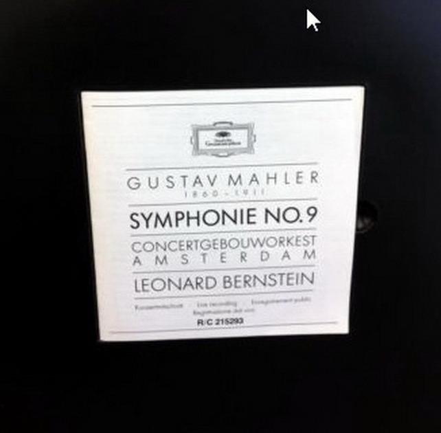 ★Audiophile★ DG Digital / BERNSTEIN-COA, - Mahler Symphony No.9, MINT, 2LP Box Set!