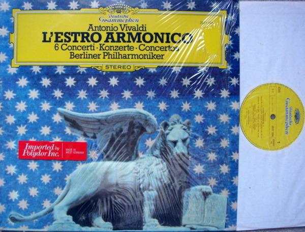 DG / BRANDIS-BPO, - Vivaldi 6 Concertos L'Estro Armonico, MINT!