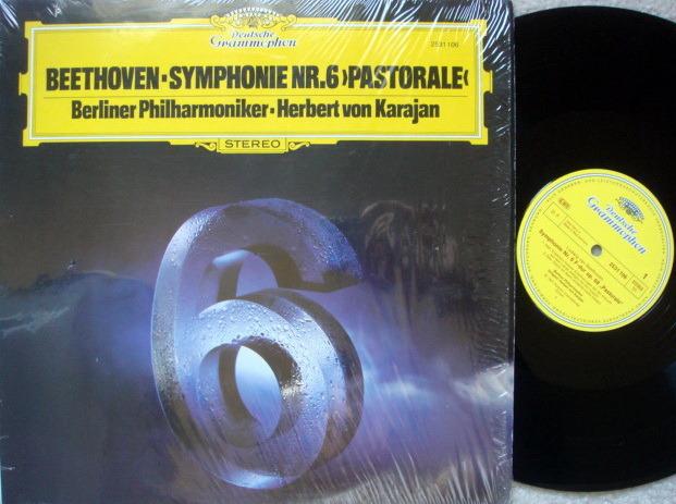 DG / KARAJAN-BPO, - Beethoven Symphony No.6 Pastorale, MINT!