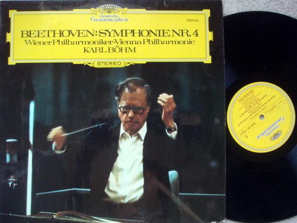 DG / BOHM-VPO, - Beethoven Symphony No.4, MINT!