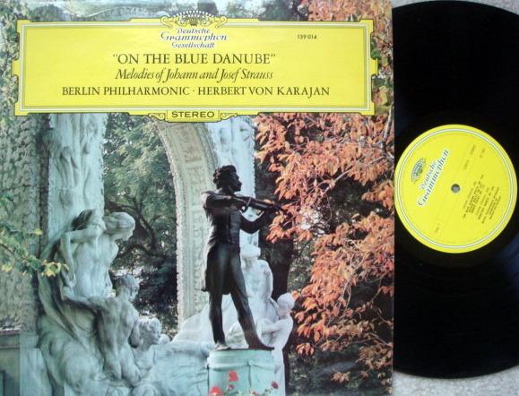 DGG / KARAJAN-BPO, - Strauss On the Blue Danube, MINT, UK Press!