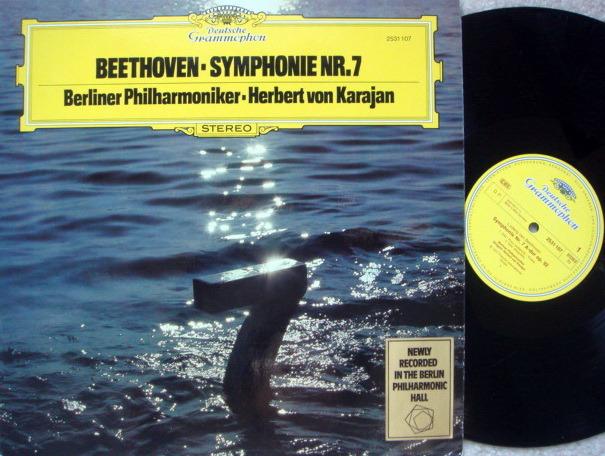 DG / KARAJAN-BPO, - Beethoven Symphony No.7, MINT!