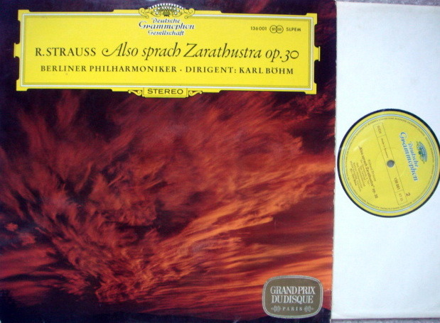 DGG / BOHM-BPO, - R. Strauss Also Sprach Zarathustra, MINT!