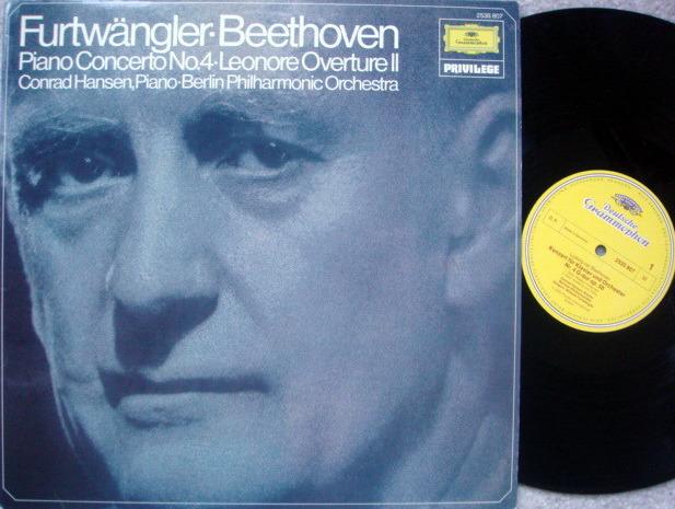 DG / FURTWANGLER-HANSEN, - Beethoven Piano Concerto No.4, MINT!
