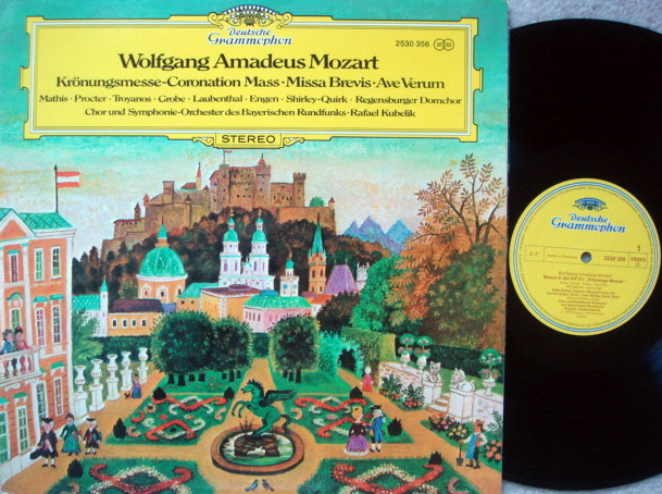 DG / RAFAEL KUBELIK, - Mozart Coronation Mass, MINT!